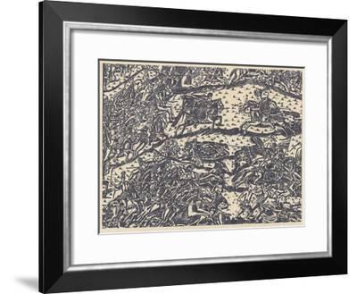 The Battle of Kulikovo--Framed Giclee Print