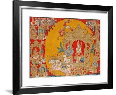The Battle of Kurukshetra, from Mysore, India, 1800-25--Framed Giclee Print