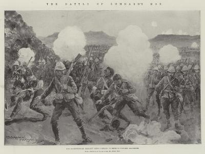 The Battle of Lombard's Kop-Henry Charles Seppings Wright-Giclee Print