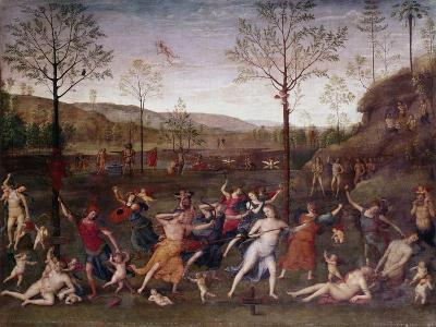 The Battle of Love and Chastity, 1504-1523-Perugino-Giclee Print
