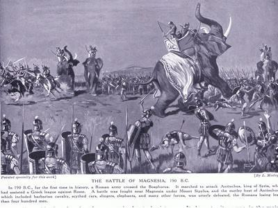 The Battle of Magnesia 190 BC-Leslie Mosley-Giclee Print