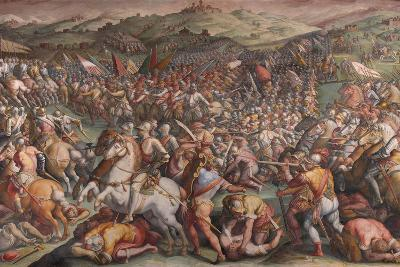 The Battle of Marciano in Val Di Chiana, 1570-1571-Giorgio Vasari-Giclee Print