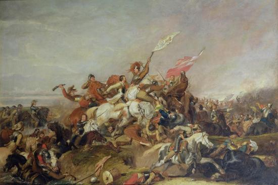 The Battle of Marston Moor in 1644, 1819-Abraham Cooper-Giclee Print