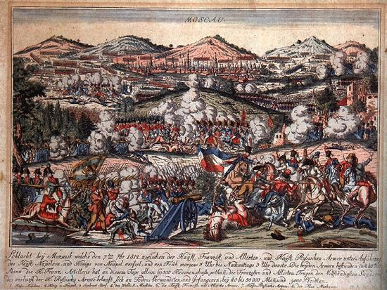 The Battle of Mozhaysk on August 26, 1812--Giclee Print