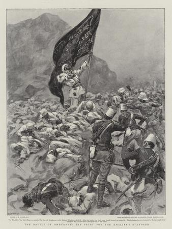 The Battle of Omdurman, the Fight for the Khalifa's Standard--Giclee Print