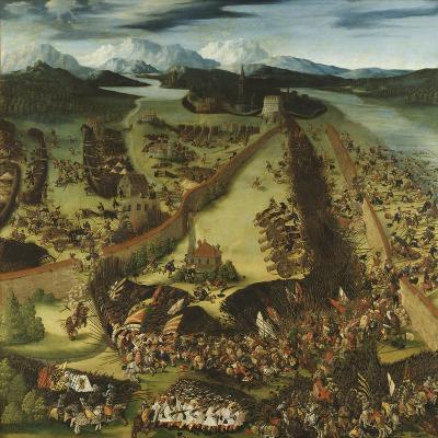 The Battle of Pavia-Ruprecht Heller-Giclee Print