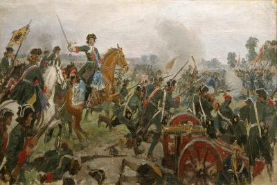 The Battle of Poltava-Ivan Alexeyevich Vladimirov-Giclee Print