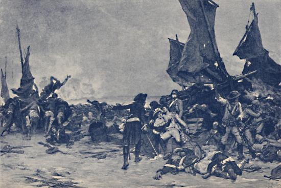 'The Battle of Quiberon', 1795, (1896)-Unknown-Giclee Print