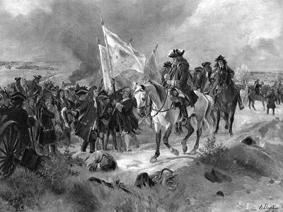 The Battle of Ramillies, 1706-Henri-Louis Dupray-Giclee Print