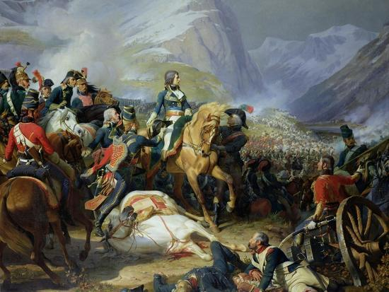 The Battle of Rivoli, 1844-Felix Philippoteaux-Giclee Print