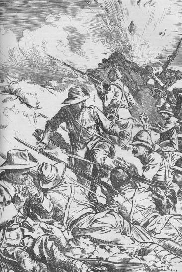 The Battle of Spion Kop, Boer War, South Africa, 1900 (1906)-Unknown-Giclee Print