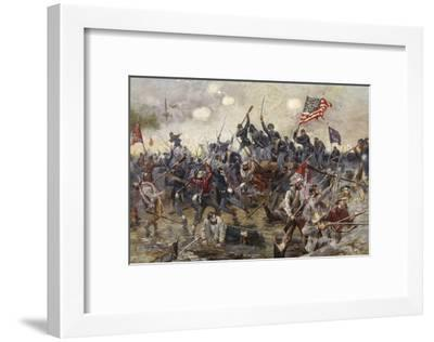The Battle of Spotsylvania, May 8-21 1864-Henry Alexander Ogden-Framed Giclee Print