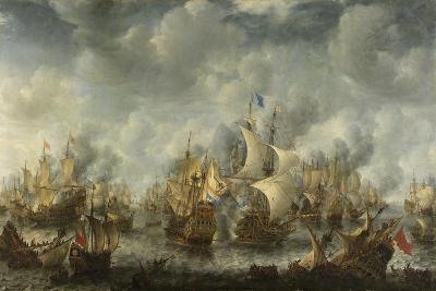 The Battle of Terheide, 1653-66-Jan Beerstraten-Giclee Print