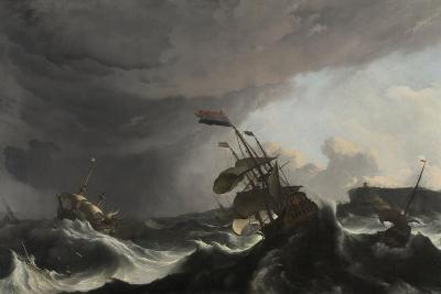 The Battle of Terheide, C.1695-Ludolf Backhuysen-Giclee Print