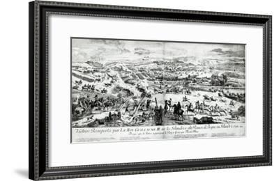 The Battle of the Boyne, c.1690--Framed Giclee Print