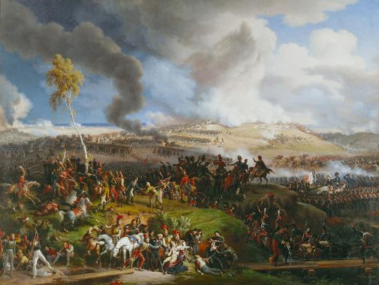 The Battle of the Moskova (Borodino), September 7,1812.-Louis Fran?ois Lejeune-Giclee Print