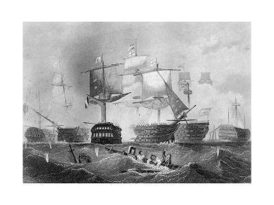 The Battle of Trafalgar, 21 October 1805-Albert Henry Payne-Giclee Print