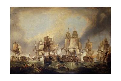 The Battle of Trafalgar-William Clarkson Stanfield-Giclee Print