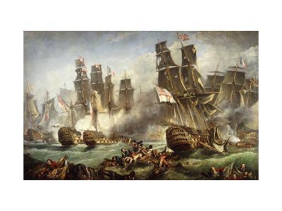 The Battle of Trafalgar--Giclee Print