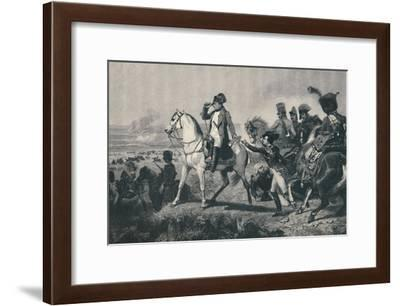 'The Battle of Wagram', 6 July 1809, (1896)-M Haider-Framed Giclee Print