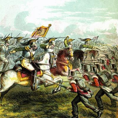 The Battle of Waterloo, 1815--Giclee Print