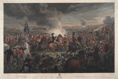 The Battle of Waterloo, 1819-Aleksandr Ivanovic Zauervejd'-Giclee Print