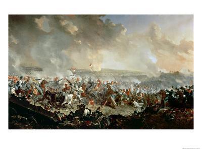 The Battle of Waterloo, 18th June 1815-Denis Dighton-Giclee Print