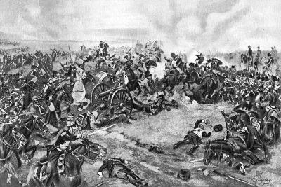 The Battle of Waterloo, Fought on 18 June 1815--Giclee Print