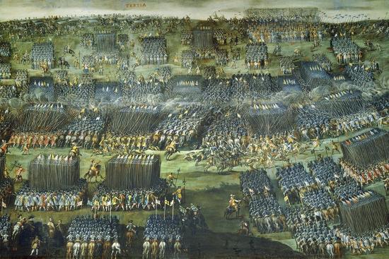The Battle of White Mountain Near Prague on 7-8 November 1620-Pieter Snayers-Giclee Print