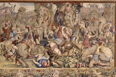 The Battle of Zama-Giulio Romano-Giclee Print