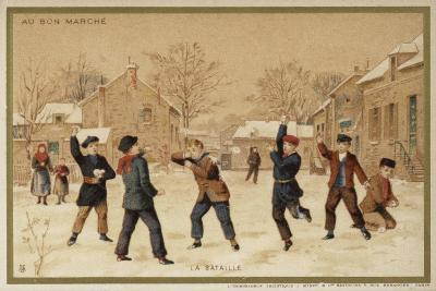 The Battle--Giclee Print