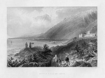 The Battlefield of Issus, Turkey, 1841-WH Capone-Giclee Print