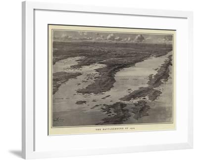 The Battleground of 1904--Framed Giclee Print
