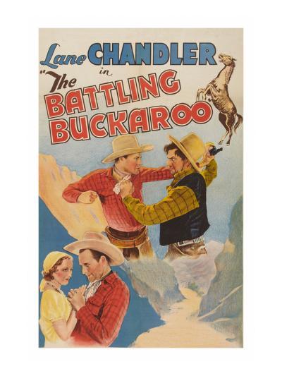 The Battling Buckaroo--Art Print