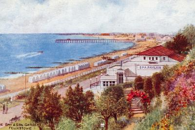 The Bay and Spa Gardens, Felixstowe-Alfred Robert Quinton-Giclee Print