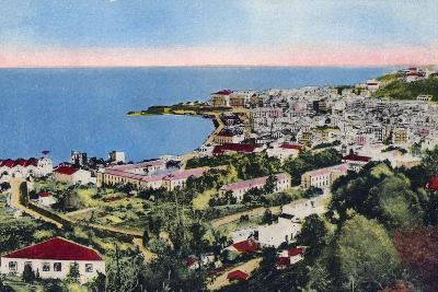 The Bay of Algiers, Algiers, Algeria, Early 20th Century--Giclee Print