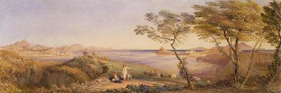 The Bay of Baiae from Monte Nuovo-Samuel Palmer-Giclee Print