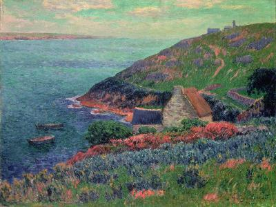 The Bay of Biscay, Brittany-Henry Moret-Giclee Print