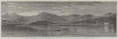 The Bay of Finlarig, Loch Tay Perthshire, with the Mausoleum of the Breadalbane Family--Giclee Print