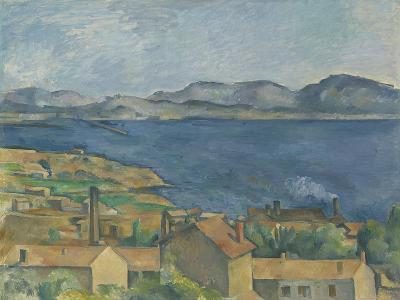 The Bay of Marseille, Seen from L'Estaque, C.1885-Paul Cezanne-Giclee Print
