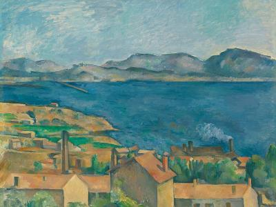 The Bay of Marseilles, Seen From L'Estaque-Paul C?zanne-Giclee Print