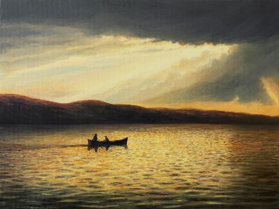The Bay Of Silence-kirilstanchev-Art Print