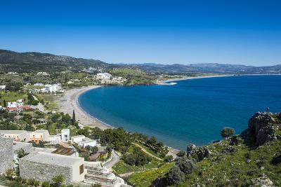 The Bay of Theotokos, Lindos, Rhodes, Dodecanese Islands, Greek Islands, Greece-Michael Runkel-Photographic Print