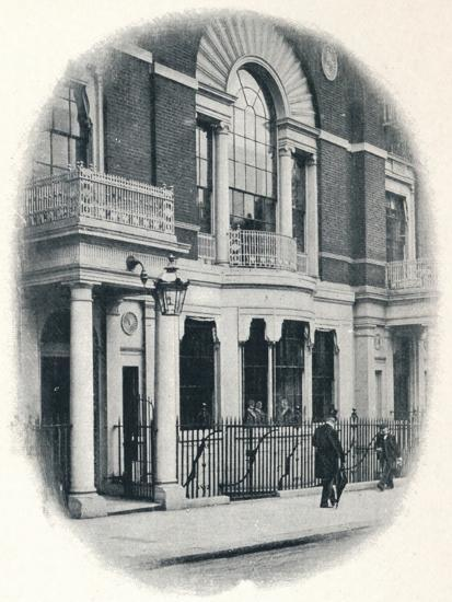 The bay window, Boodle's Club, London, c1900 (1901)-Unknown-Photographic Print