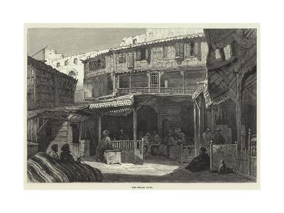 The Bazaar, Cairo--Giclee Print
