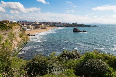 The Beach and Seafront in Biarritz, Pyrenees Atlantiques, Aquitaine, France, Europe-Martin Child-Photographic Print