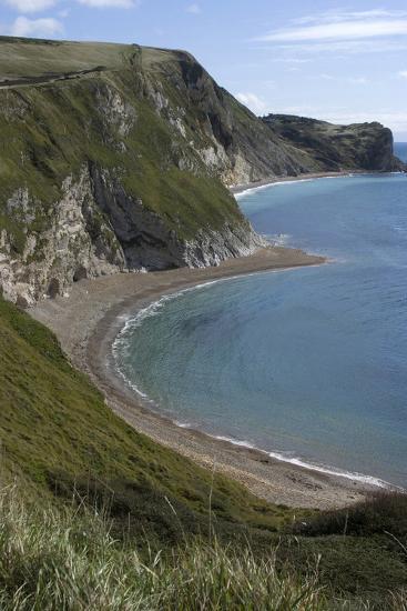 The Beach at Durdle Door on the Jurassic Coast, Dorset, UK-Natalie Tepper-Photo