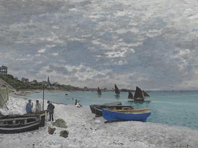 The Beach at Sainte-Adresse, 1867-Claude Monet-Giclee Print