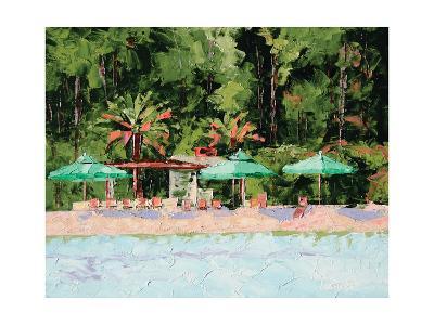 The Beach Club-Leslie Saeta-Art Print