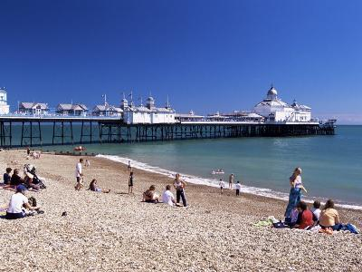 The Beach, Eastbourne, East Sussex, England, United Kingdom-John Miller-Photographic Print